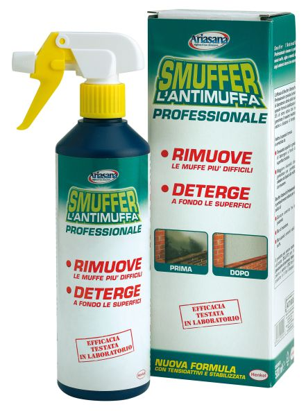 HENKEL - SMUFFER SPRAY ML.500 L'ANTIMUFFA